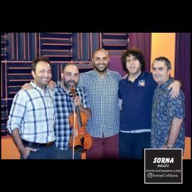 ضبط اثر جدید با صدای حامی در استودیو سرنا