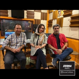 ضبط ارکستر زهی پروژه حافظ در استودیو سرنا