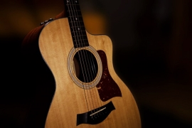 finger-style acoustic guitar